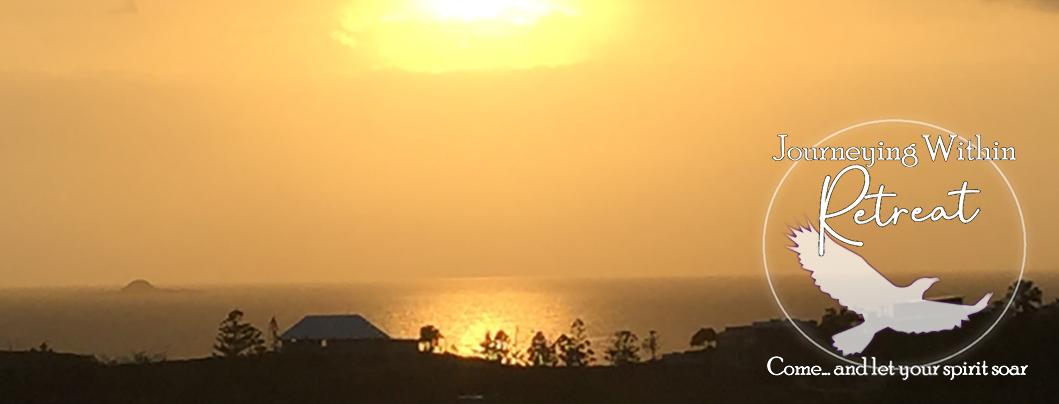 Retreat sunrise, a beautiful way to end the retreat.